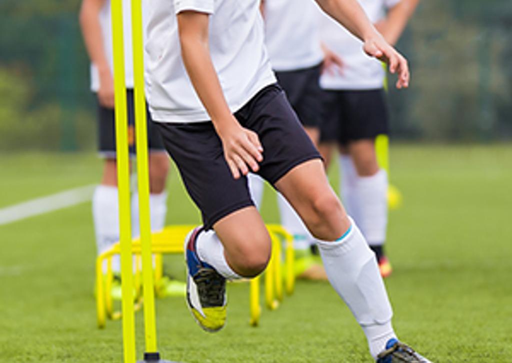 Soccer Light training